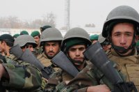 Afghan soldiers (file photo)