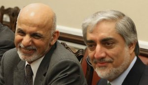 Ghani (left) and Abdulllah (right)