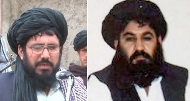 Mullah Rasool (left) & Mullah Mansoor (right)