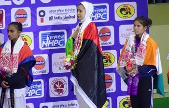Sumaya Ghulami at the South Asian Games