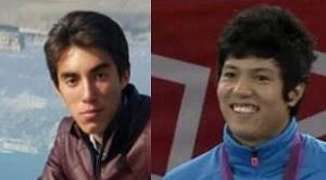 Mohsen Rezaei (left) and Rohullah Nikpai (right)