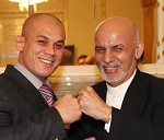 Mubariz (left) and Ghani (right).