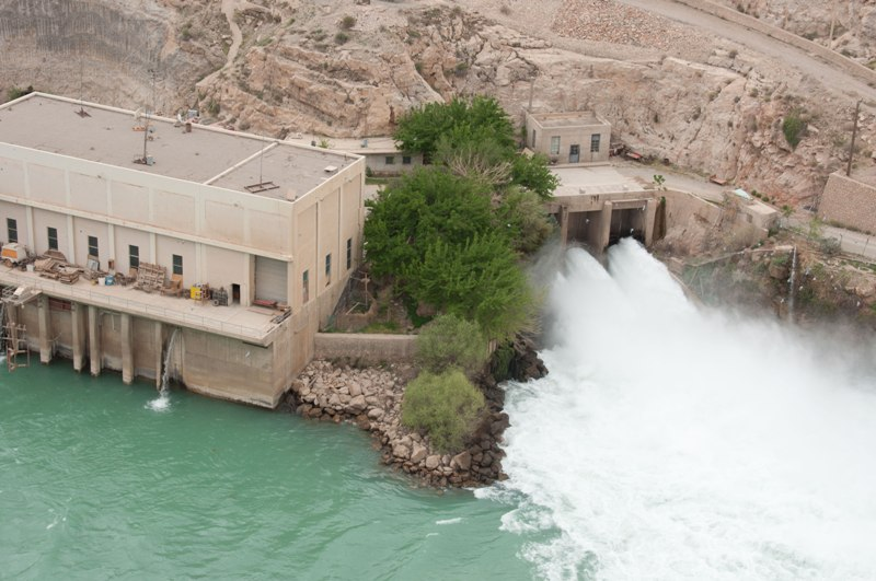 Dam in Afghanistan (file photo)