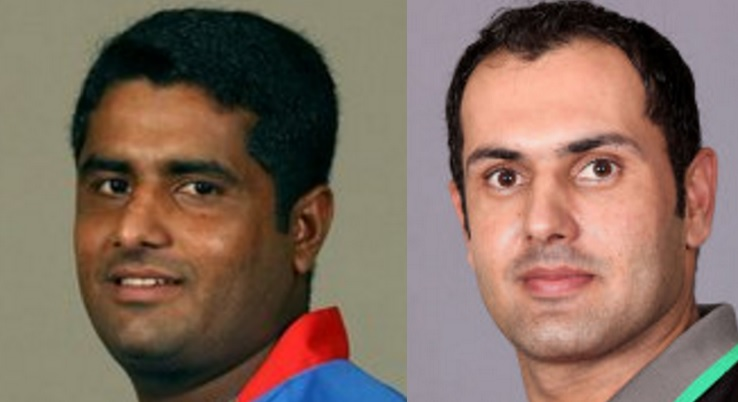 Shahzad (left), Nabi (right)
