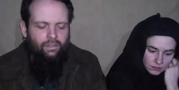 Canadian Joshua Boyle and American Caitlan Coleman
