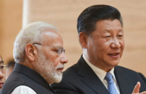Modi (left) and Xi (right)