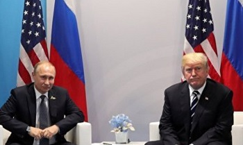 Putin (left) and Trump (right) - file photo