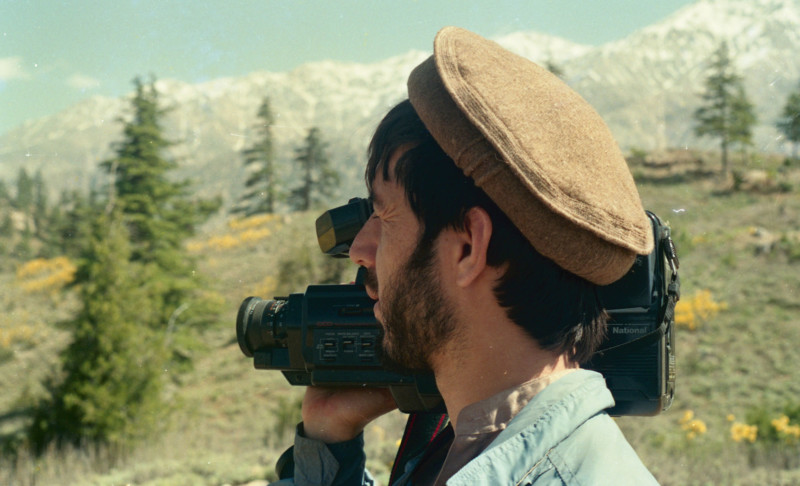A mujahid with a videocamera. Photo: Manzoor Shah, 1988. Courtesy of the Afghan Media Resource Center.