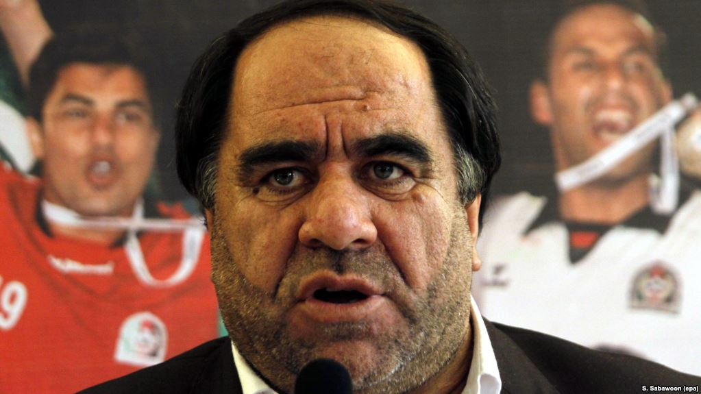 Keramuudin Karim, the president of the Afghanistan Football Federation