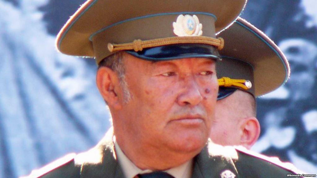 Retired Colonel Boris Kerimbaev in Almaty in 2009
