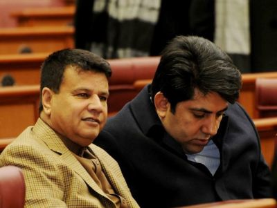 Mir Rahman Rahmani and Kamal Nasir Osoli