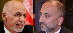 Ghani (left) and Atmar (right)
