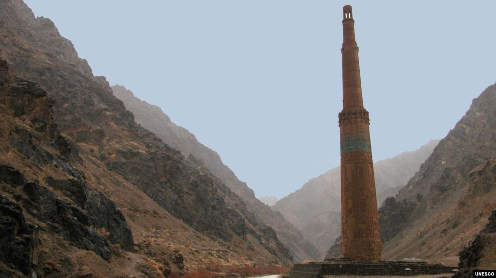 The Minaret of Jam, a UNESCO World Heritage Site, dates back to 1190. (file photo)