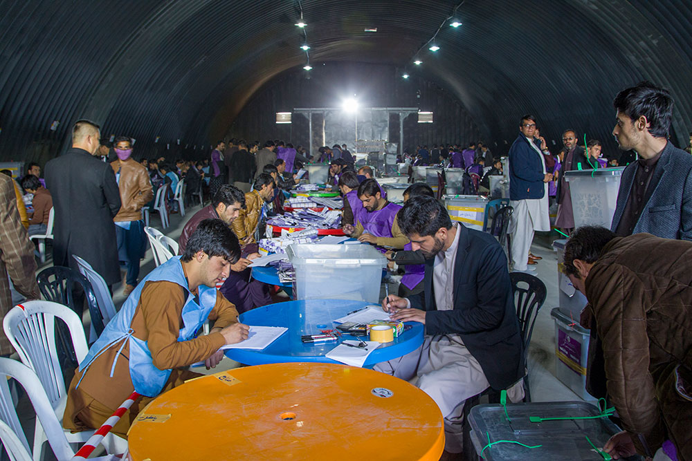Photo courtesy of Independent Election Commission of Afghanistan